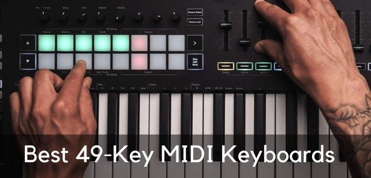 meilleurs contrôleurs MIDI à 49 touches