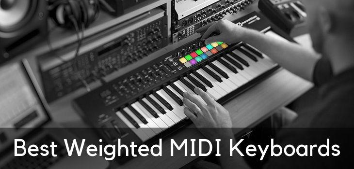 Meilleurs claviers MIDI pondérés